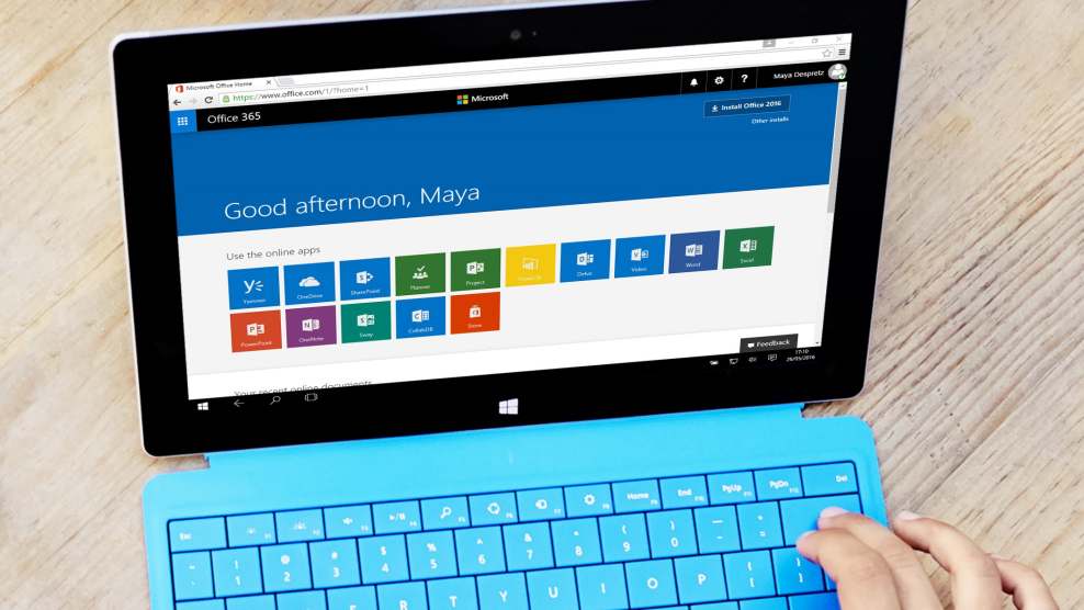 Image of Microsoft Classroom dashboard