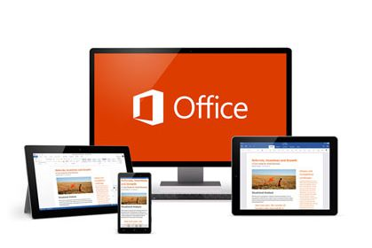 Multiple devices loaded with Microsoft Office