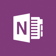 Image of the OneNote logo