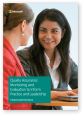 Thumbnail of the Whitepaper Quality assurance pdf front cover showing two women talking to each other. Click to download this PDF file.