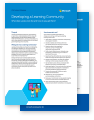 Thumbnail of two sheets of paper from the learning communities pdf. Click to download this PDF file.